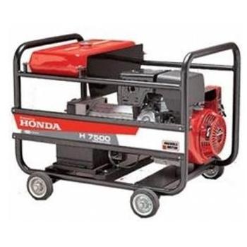 Generator de curent Honda, H 7500 T, trifazat, putere 9.56 kW, benzina, putere motor 13 Cp, tensiune 230 V / 400V, pornire manuala, Anadolu