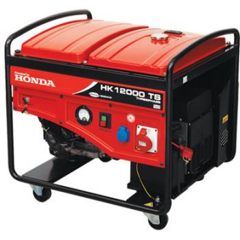 Generator de curent Honda, HK 12000 M, monofazic, putere 14.71 kW, benzina, putere motor 20 Cp, tensiune 230 V, pornire manuala, Anadolu
