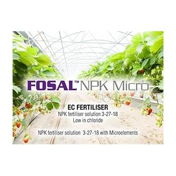 Ingrasamant Fosal NPK+Micro lichid cu aplicare foliara, 28kg, EuroTSA