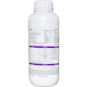 Ingrasamant Acticlaster, lichid cu aplicare foliara si fertirigare,1 kg, EuroTSA #2