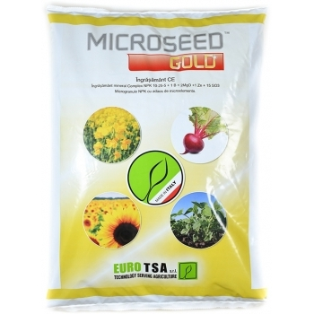 Ingrasamant microseed gold, microgranulat cu aplicare la sol, 10kg, eurotsa