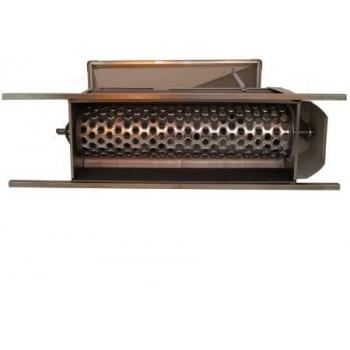 Desciorchinator cu zdrobitor manual LGSR1, productie 400-600kg/h, cuva din tabla emailata #4