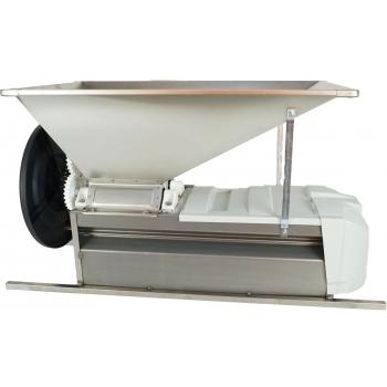 Desciorchinator cu zdrobitor manual LGCSR0, productie 400-600kg/h, complet inox