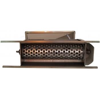 Desciorchinator cu zdrobitor manual LGCSR0, productie 400-600kg/h, complet inox #2