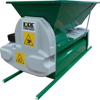 Desciorchinator cu zdrobitor electric LGCSR3, productie 1500 kg/h, cuva din tabla emailata #5