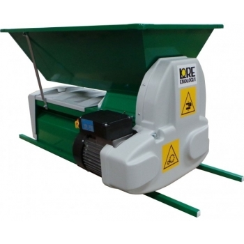 Desciorchinator cu zdrobitor electric LGCSR3, productie 1500 kg/h, cuva din tabla emailata #6