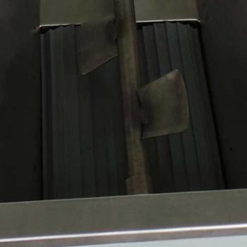 Desciorchinator cu zdrobitor electric LGCSR5, productie 1500 kg/h, cuva si carcasa din inox #5