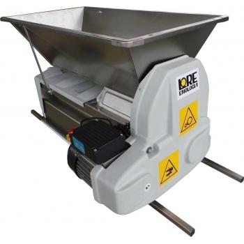 Desciorchinator cu zdrobitor electric LGCSR5, productie 1500 kg/h, cuva si carcasa din inox