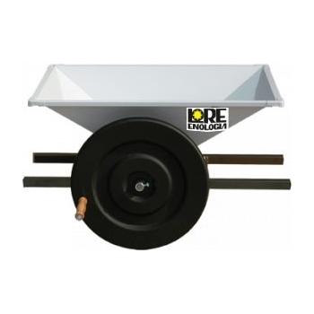 Zdrobitoare pentru struguri manuala, productivitate 500-700 kg/h, din tabla emailata, LGC1