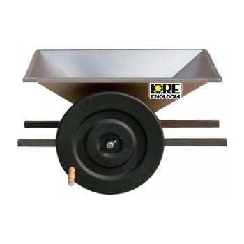 Zdrobitoare pentru struguri, manuala, din inox, productivitate 500-700 kg/h, LGC2