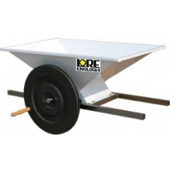 Zdrobitoare pentru struguri, manuala, din inox, productivitate 500-700 kg/h, LGC4