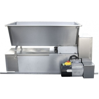 Desciorchinator cu zdrobitor electric ENO 15 INOX, productivitate  1800 kg/h, din inox alimentar