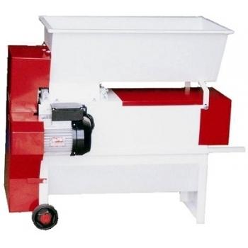 Desciorchinator cu zdrobitor electric ENO 20 SMALTO, productivitate  1800 kg/h, din tabla smaltuita