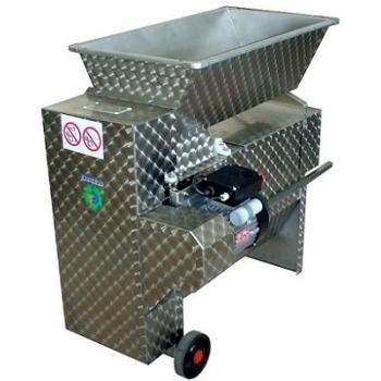 Desciorchinator cu zdrobitor electric ENO 20 INOX, productivitate  1800 kg/h, din inox