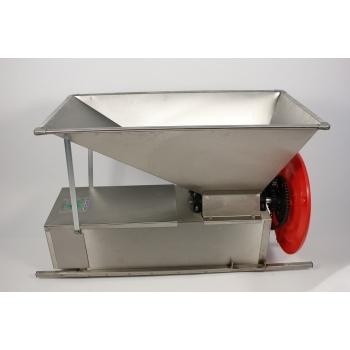 Desciorchinator manual ENO 03 INOX cu zdrobitor, productivitate 500 kg/h, din inox alimentar
