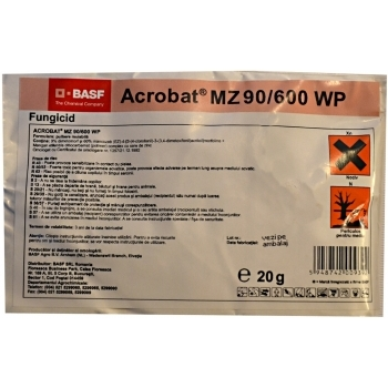 Fungicid Acrobat MZ 90/600 WP(20 gr) Basf