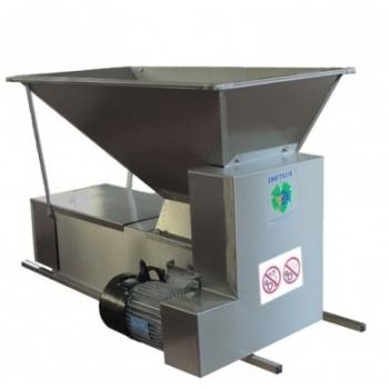 Desciorchinator cu zdrobitor electric ENO 3 INOX, productivitate 1200 kg/h, din inox alimentar