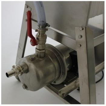 Filtru profesional FP20, din inox, pentru filtrarea vinului,  productivitate 800 l/h #2