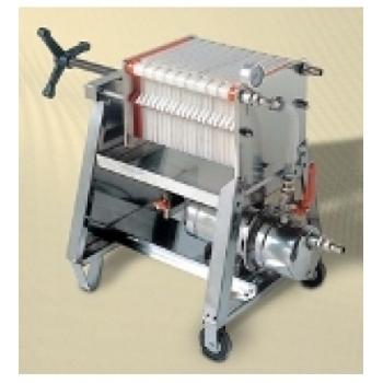 Filtru profesional FP20, din inox, pentru filtrarea vinului,  productivitate 800 l/h