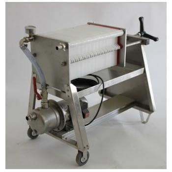Filtru profesional FP30, din inox, pentru filtrarea vinului, productivitate 1200 l/h #2