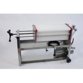 Filtru profesional FP40, din inox, pentru filtrarea vinului, productivitate 1400 l/h