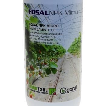 Ingrasamant Fosal NPK+Micro lichid cu aplicare foliara, 1kg, EuroTSA #4