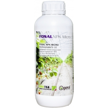 Ingrasamant Fosal NPK+Micro lichid cu aplicare foliara, 1kg, EuroTSA
