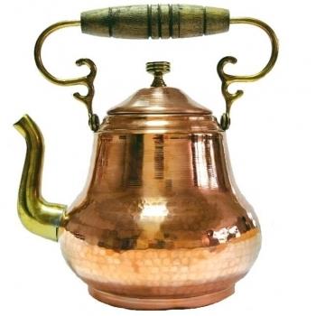 """CEAINIC DIN CUPRU MODEL """"ANII 1860"""", 1.5 L"""