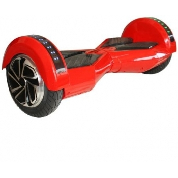 Hoverboard electric Nova Vento HV8 Red&Black, autonomie 20 km, viteza maxima de deplasare 12 km/h #2