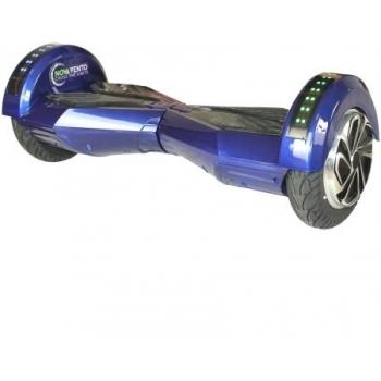 Hoverboard electric Nova Vento HV8 Blue&Black, autonomie 20 km, viteza maxima de deplasare 12 km/h