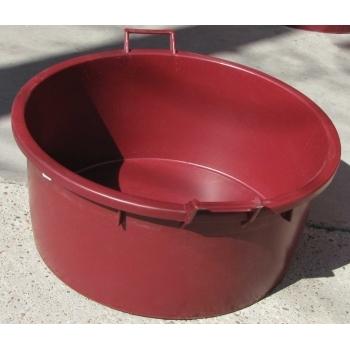 Cada Mastellone 150 L, folosita la macerarea strugurilor rosii