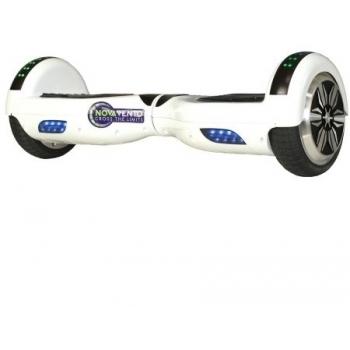 Hoverboard electric Nova Vento HV6.5 White, autonomie 20 km, viteza maxima de deplasare 10 km/h #2