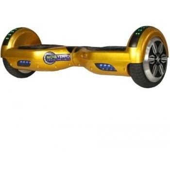 Hoverboard electric Nova Vento HV6.5 Golden, autonomie 20 km, viteza maxima de deplasare 10 km/h