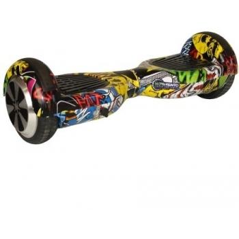 Hoverboard electric Nova Vento HV6.5 Blue, autonomie 20 km, viteza maxima de deplasare 10 km/h