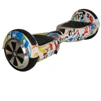 Hoverboard electric Nova Vento HV6.5 Cartoon Art, autonomie 20 km, viteza maxima de deplasare 10 km/h