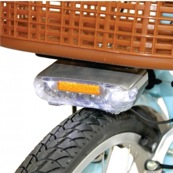 Bicicleta electrica Nova Vento Mlady L2601 Blue, autonomie 70 km, viteza maxima de deplasare 25 km/h #7
