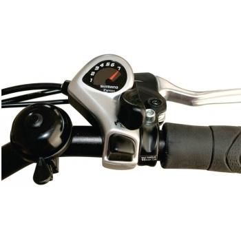 Bicicleta electrica Nova Vento Long Run L2803 Silver, autonomie 70 km, viteza maxima de deplasare 25 km/h #3