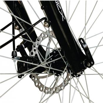 Bicicleta electrica Nova Vento Long Run L2803 Silver, autonomie 70 km, viteza maxima de deplasare 25 km/h #6