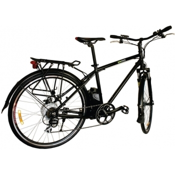 Bicicleta electrica Nova Vento Long Run L2803 Black, autonomie 70 km, viteza maxima de deplasare 25 km/h #2