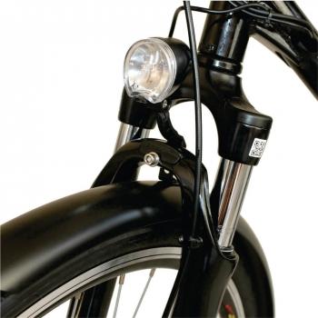 Bicicleta electrica Nova Vento Long Run L2803 Black, autonomie 70 km, viteza maxima de deplasare 25 km/h #7