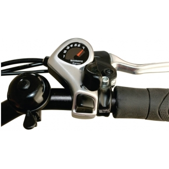 Bicicleta electrica Nova Vento Long Run L2803 Black, autonomie 70 km, viteza maxima de deplasare 25 km/h #4
