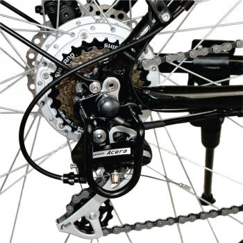 Bicicleta electrica Nova Vento Long Run L2803 Black, autonomie 70 km, viteza maxima de deplasare 25 km/h #5