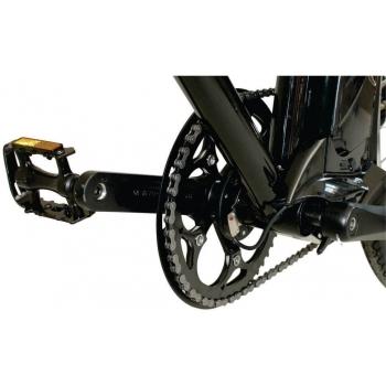 Bicicleta electrica Nova Vento Long Run L2803 Black, autonomie 70 km, viteza maxima de deplasare 25 km/h #6