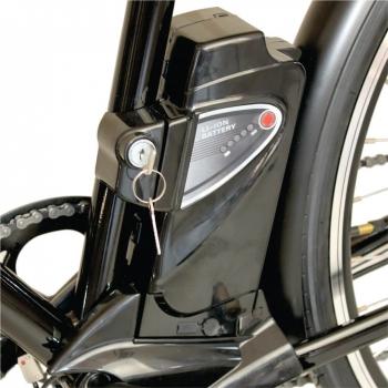 Bicicleta electrica Nova Vento Long Run L2803 Black, autonomie 70 km, viteza maxima de deplasare 25 km/h #9