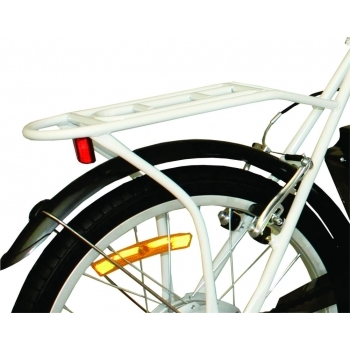 Bicicleta electrica Nova Vento Smart City T2009 White, autonomie 50 km, viteza maxima de deplasare 25 km/h #5