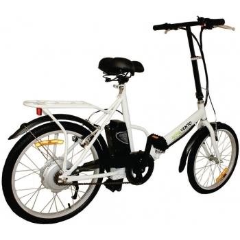 Bicicleta electrica Nova Vento Smart City T2009 White, autonomie 50 km, viteza maxima de deplasare 25 km/h #2