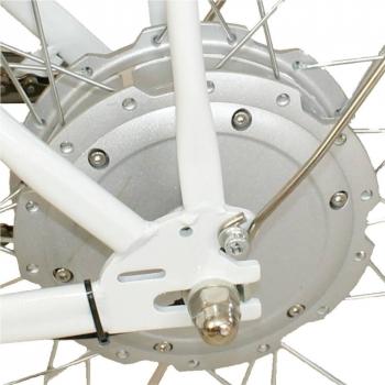 Bicicleta electrica Nova Vento Smart City T2009 White, autonomie 50 km, viteza maxima de deplasare 25 km/h #4