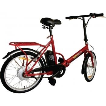 Bicicleta electrica Nova Vento Smart City T2009 Red, autonomie 50 km, viteza maxima de deplasare 25 km/h #2
