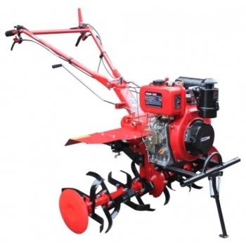 Motocultor Energo H105E + roti cauciuc + rarita, motorina, putere 7 Cp, latime de lucru 105 cm, pornire la sfoara, 2 viteze inainte + 1 inapoi #2