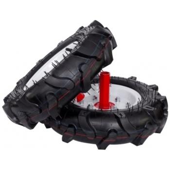 Motocultor Energo H105E + roti cauciuc + rarita, motorina, putere 7 Cp, latime de lucru 105 cm, pornire la sfoara, 2 viteze inainte + 1 inapoi #3